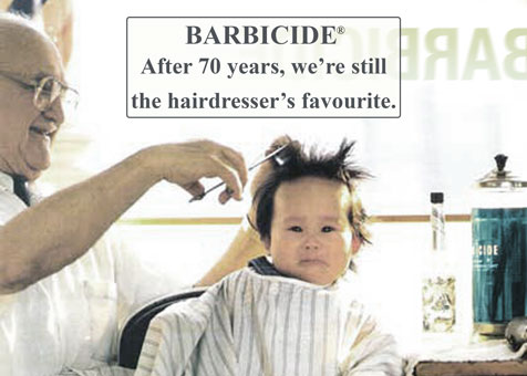 barbicide 70years