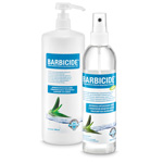Barbicide Hand Disinfection
